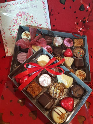 Picture of A Box of 12 chocolates