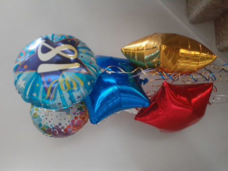 Picture for category Age Balloons