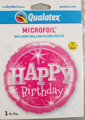 Picture of Birthday Balloons - Pink