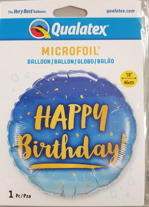 Picture of Birthday Balloons - Blue