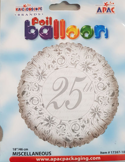Picture of 25th Aniversary  Balloon