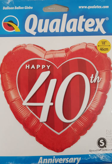 Picture of 40th Aniversary Balloon