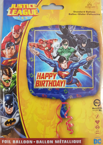 Picture of Birthday Balloons Superheroes