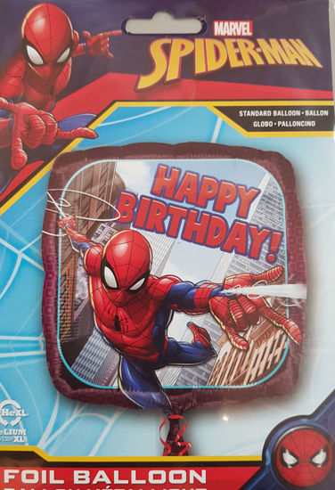 Picture of Birthday Balloons Spiderman