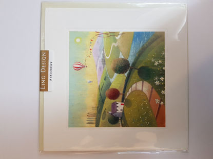Picture of Card Birthday - Hotair Balloon