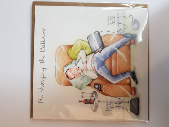 Picture of Card Birthday - recharging  card