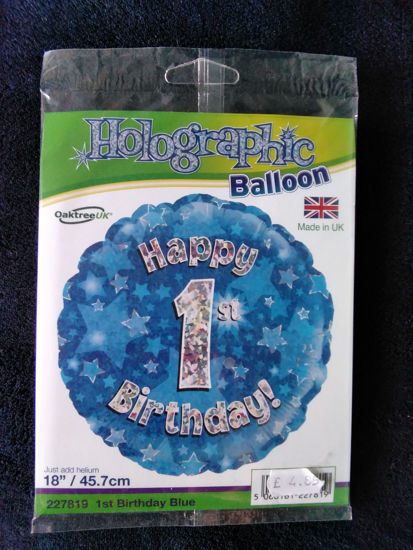 Picture of number1 balloon