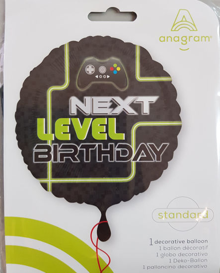 Picture of Birthday Balloons- Level up gamers