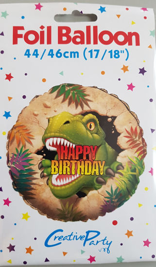 Picture of Birthday Balloons T- rex