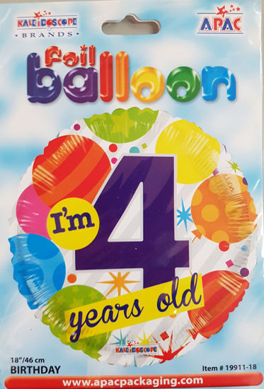 Picture of 4 th Balloons