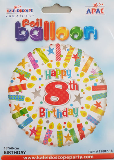Picture of 8 th Balloons