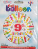 Picture of 9 th balloons