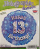 Picture of 13 th Balloons
