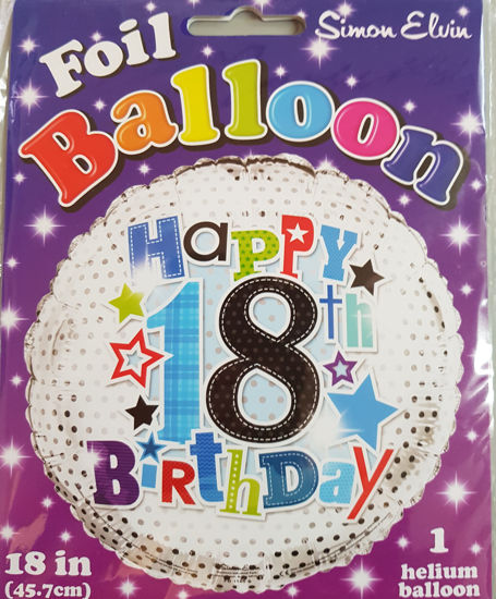 Picture of 18 th Balloons