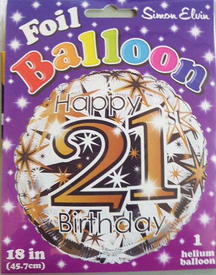 Picture of 21 st Balloons