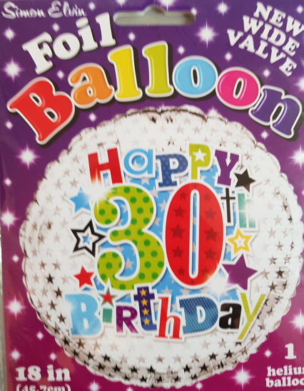 Picture of 30 th  Balloons