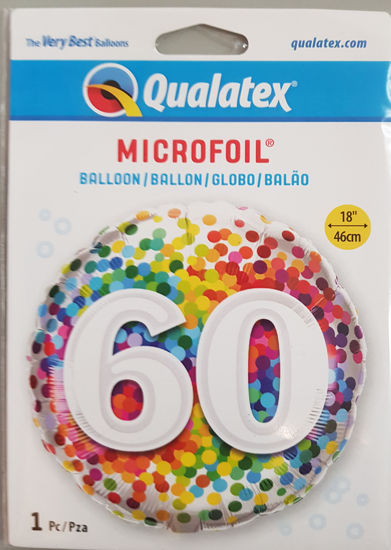 Picture of 60 th Balloons