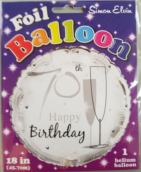 Picture of 70 th Balloons