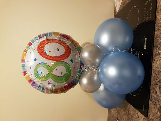 Picture of Table top balloon display