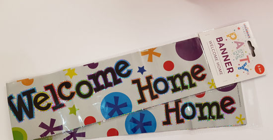 Picture of Banner Welcome home