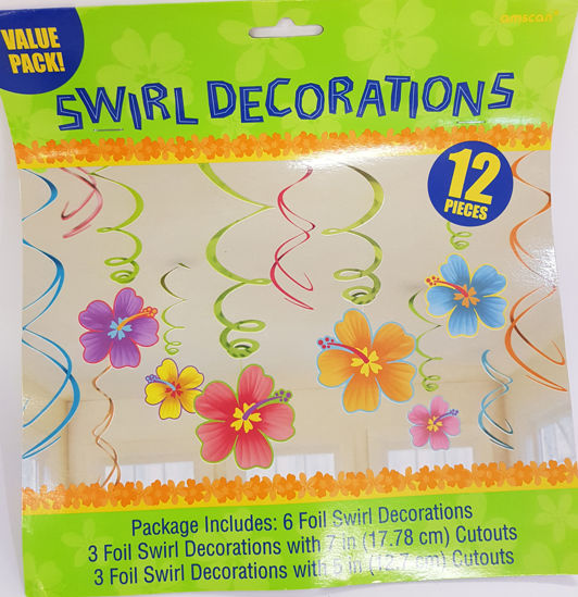 Picture of Flower swirls decorations