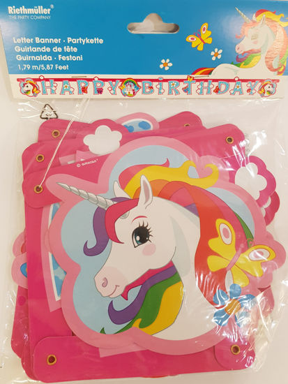Picture of Banner Unicorn hanner