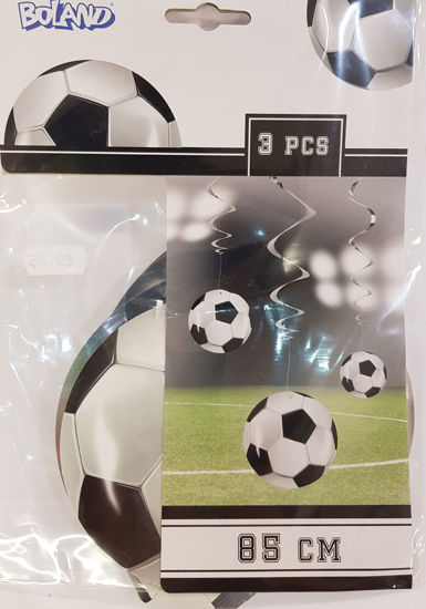 Picture of Swirls football decorations