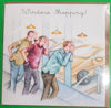 Picture of Card Blank -Men and cars