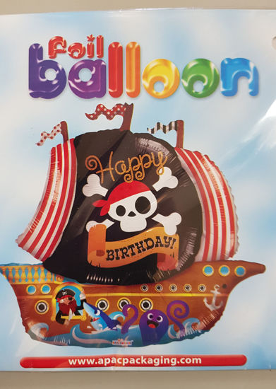 Picture of Supershape Balloon  Pirateship