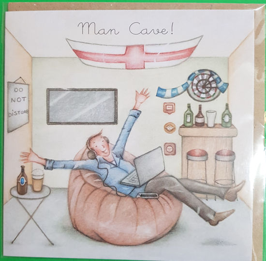 Picture of Card Blank -Man cave card