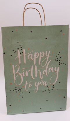 Picture of Gift bag Blue birthday