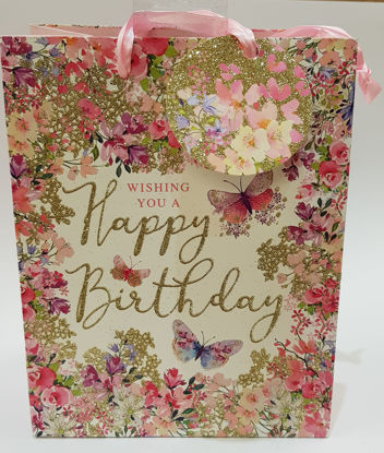 Picture of Gift bag Butterfly