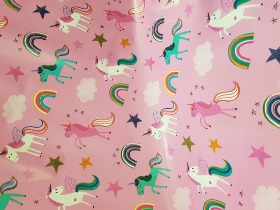 Picture of Gift Wrap unicorns