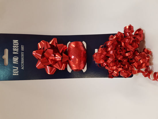 Picture of Ribbon set Red