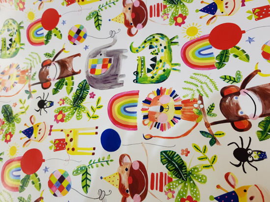 Picture of Gift wrap Animals